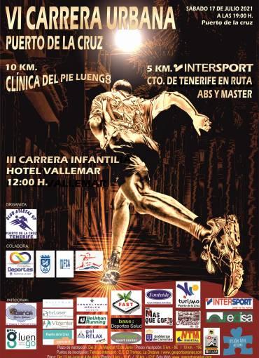 Campeonato de Tenerife en ruta 5Km